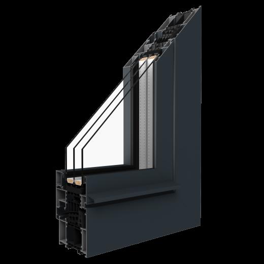 Profil Fenster MB-86SI